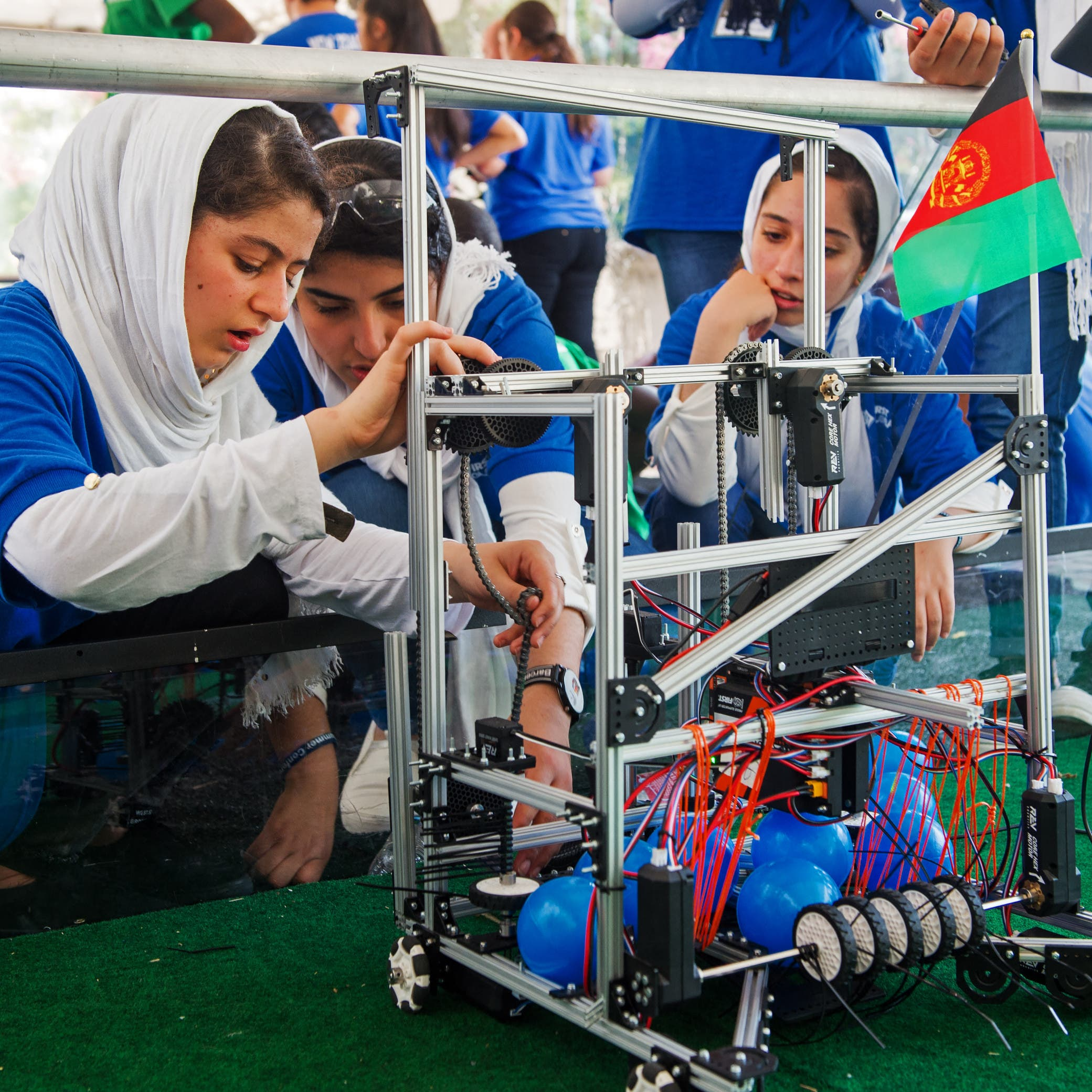 Afghanistan's girls robotics team evacuated from Kabul after Taliban takeover