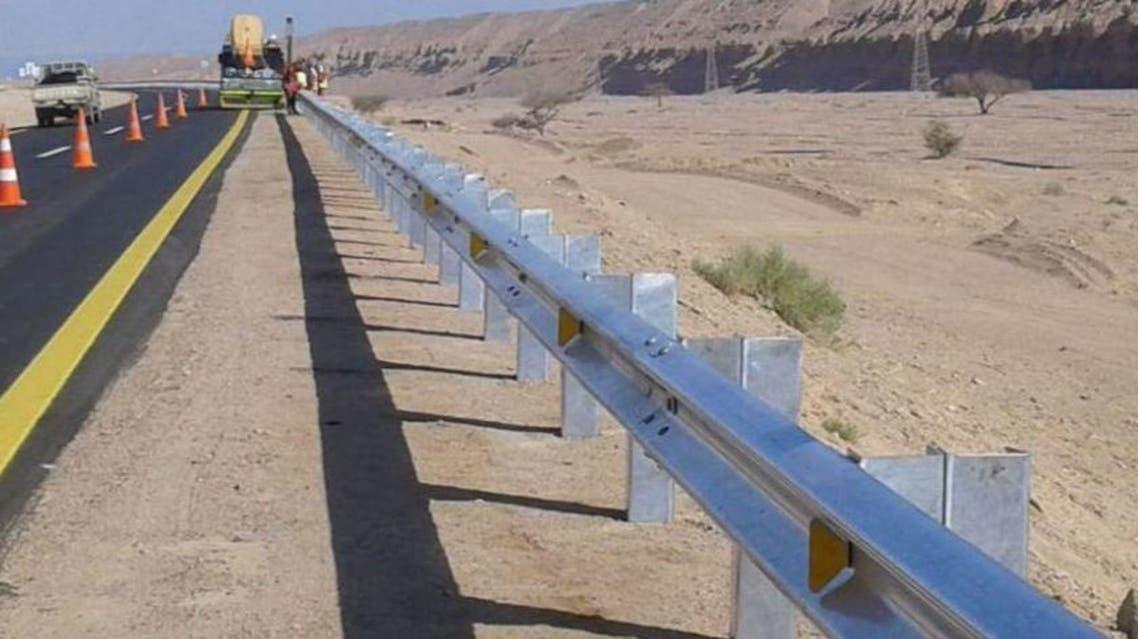 مشاريع طرق في تبوك السعودية