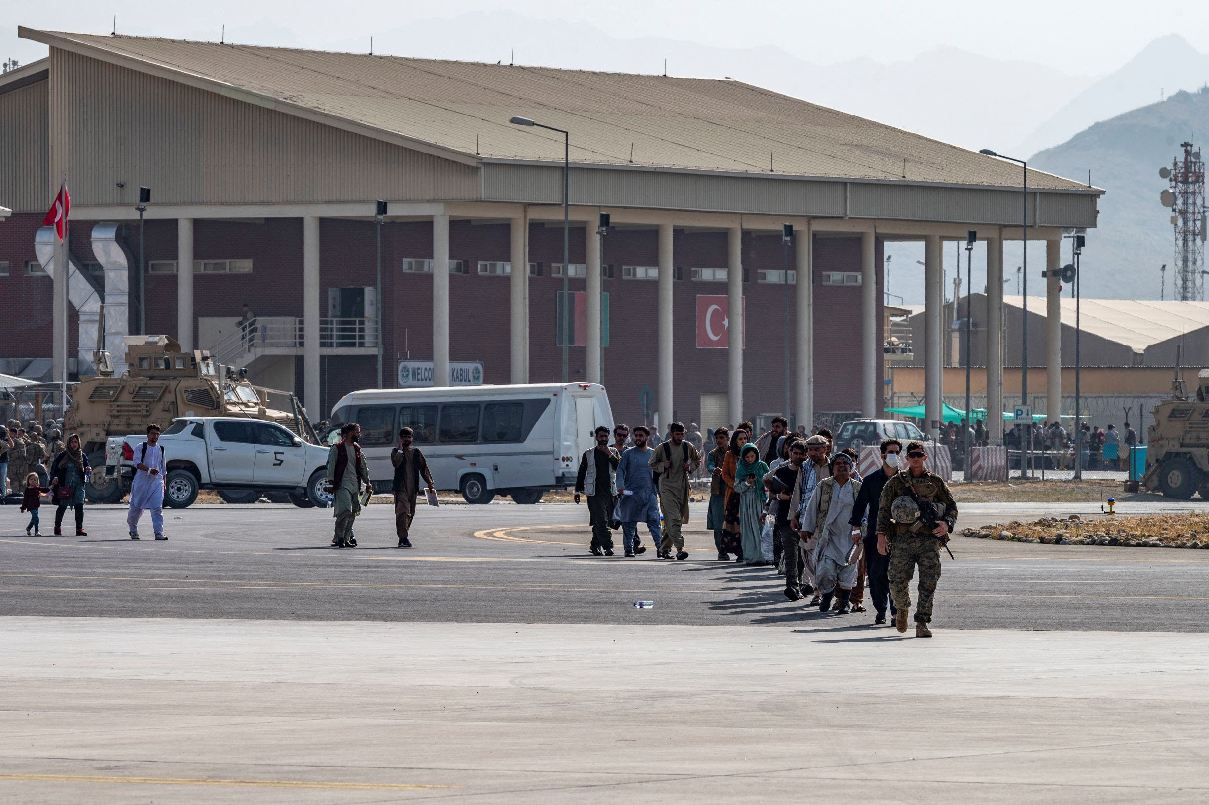 تواصل عمليات الإجلاء في كابل