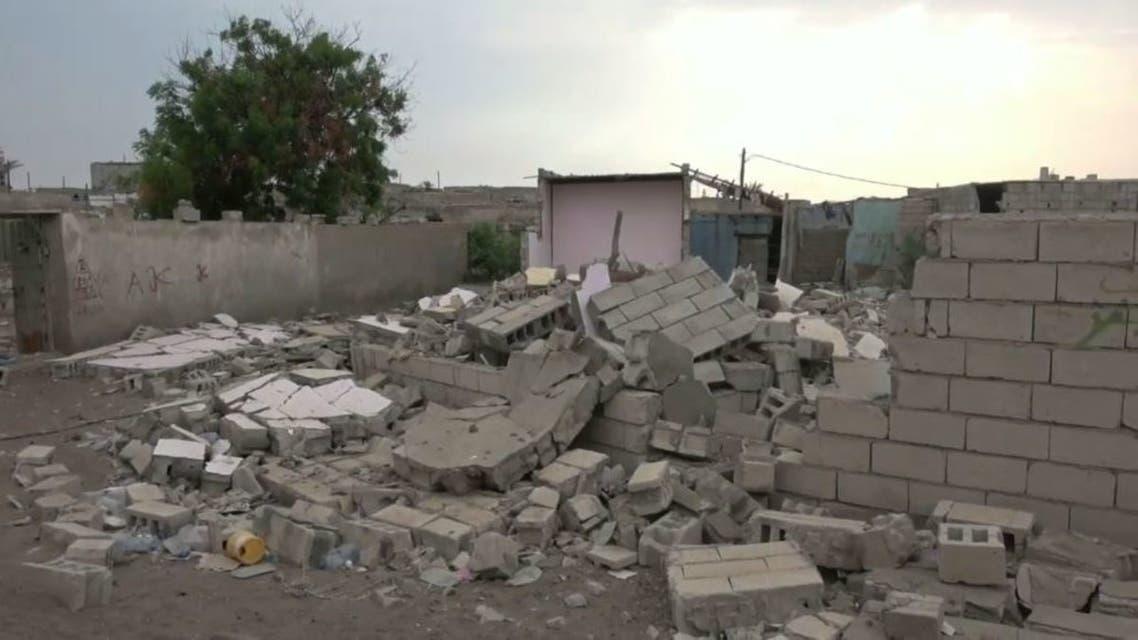 قصف حوثي