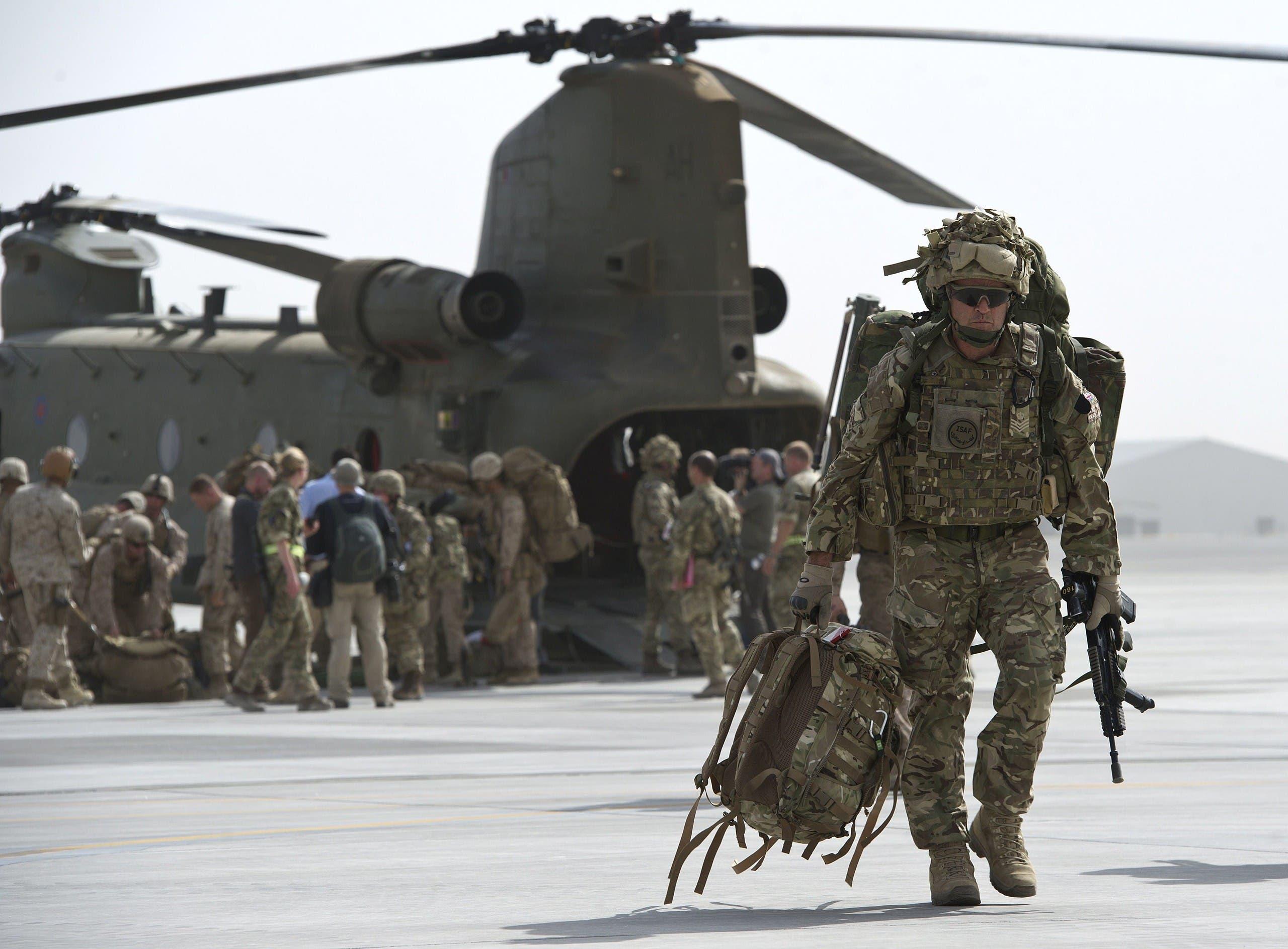 افغانستان میں موجود برطانوی فوج