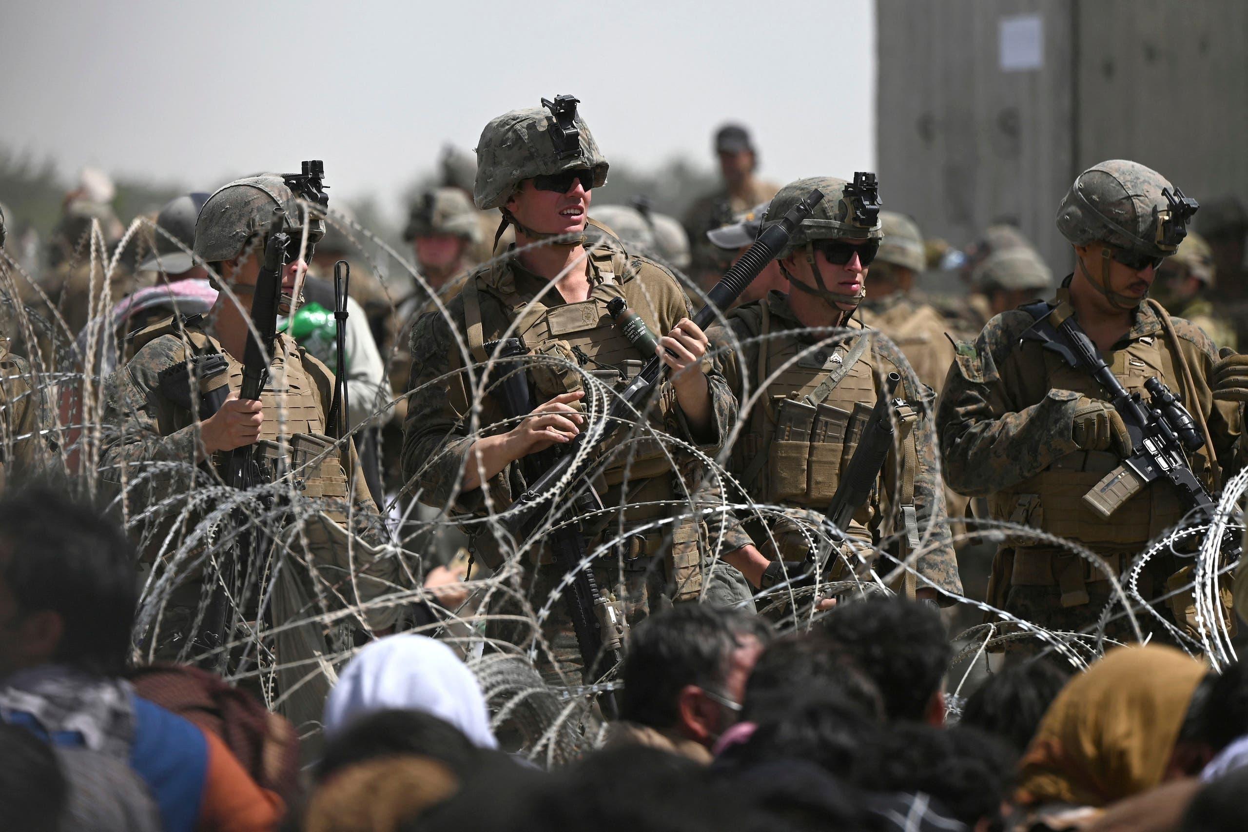جنود أميركيون في مطار كابل