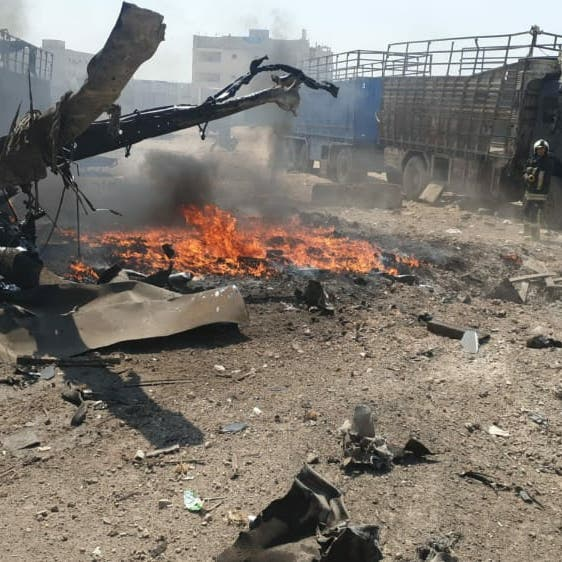 7 جرحى بانفجار سيارة ملغمة في مدينة إعزاز بريف حلب