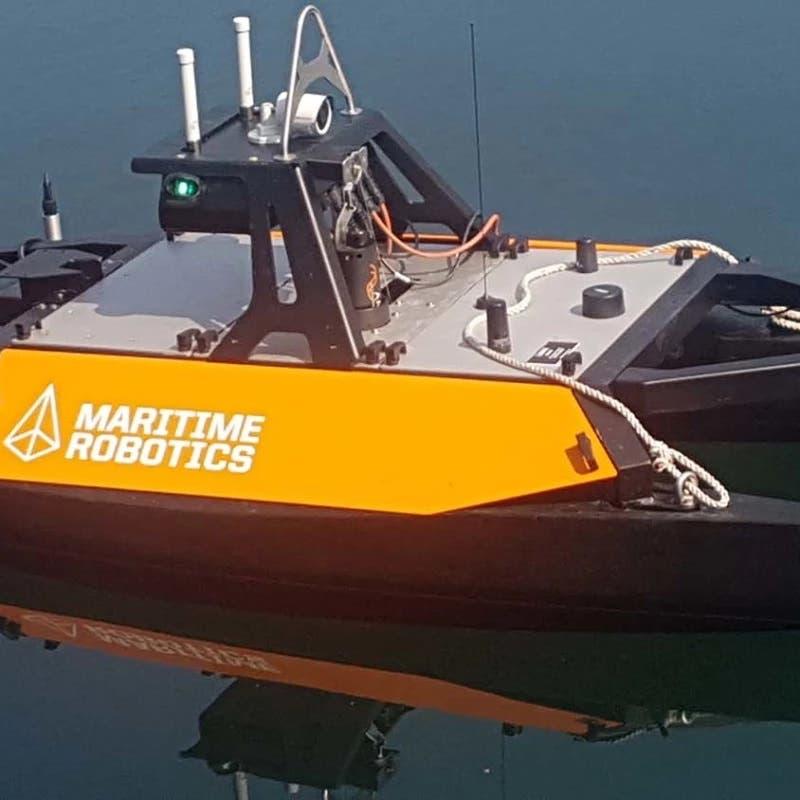 اختبار قارب روبوتي لرسم خرائط لقاع البحار والمحيطات