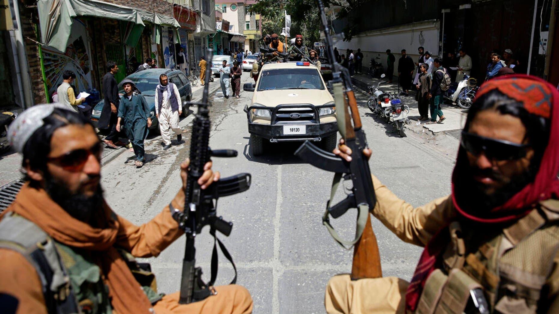 حركة طالبان في كابل - قرانس برس