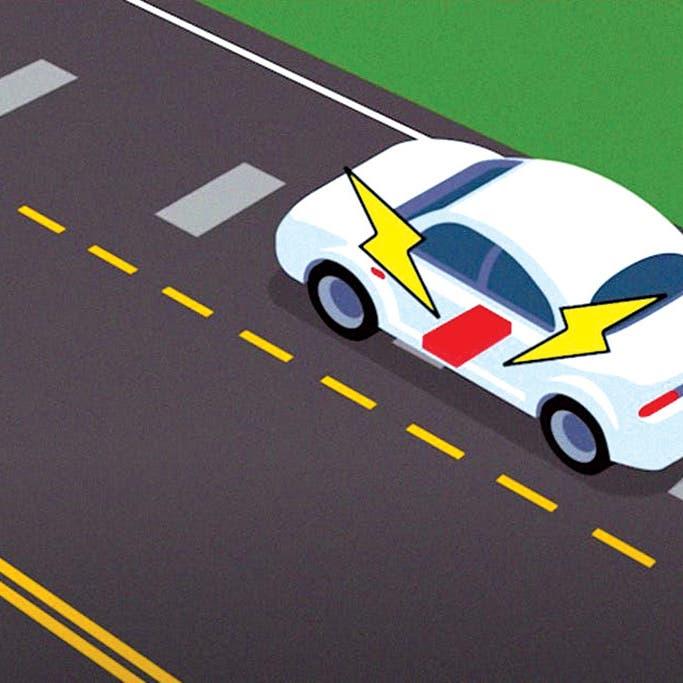 جديد العلم.. طريق يشحن السيارات الكهربائية أثناء القيادة!