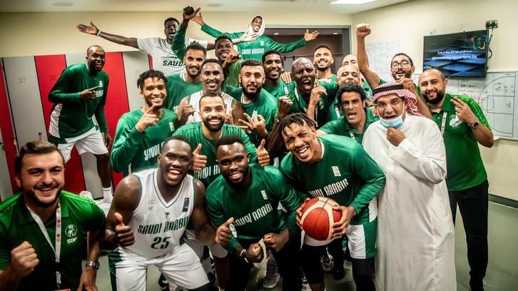 المنتخب السعودي لكرة السلة يبلغ نهائيات كأس آسيا
