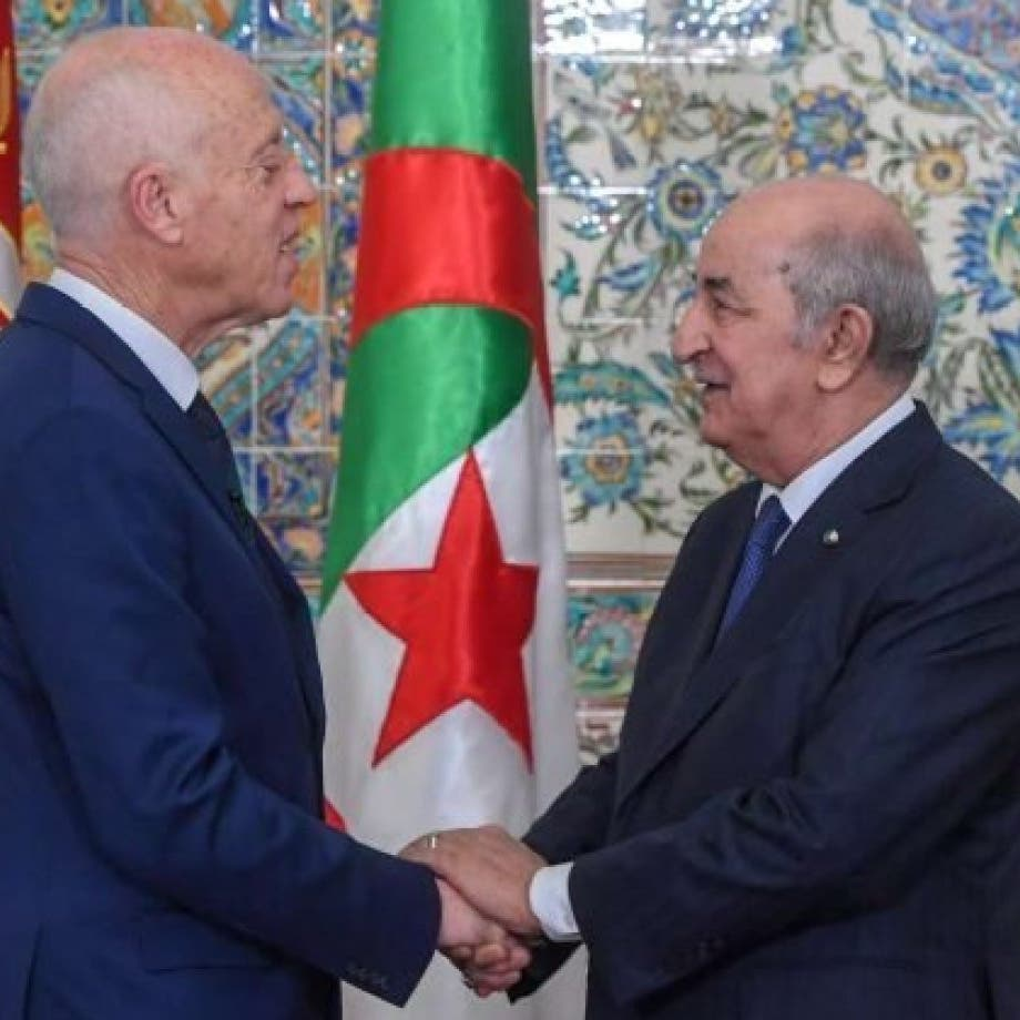 تبون يؤكد لسعيد تضامن بلاده مع تونس