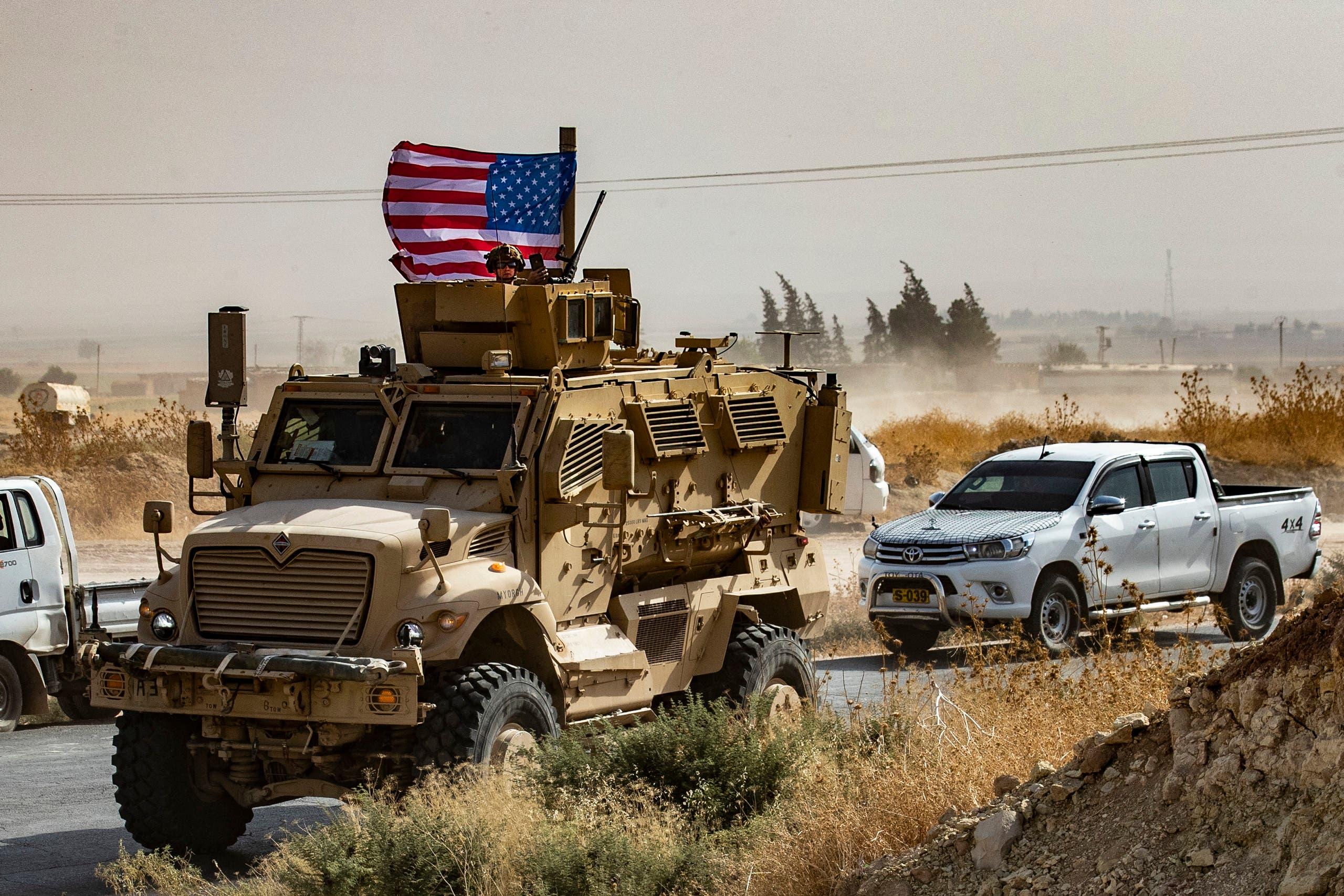 آلية عسكرية أميركية في سوريا