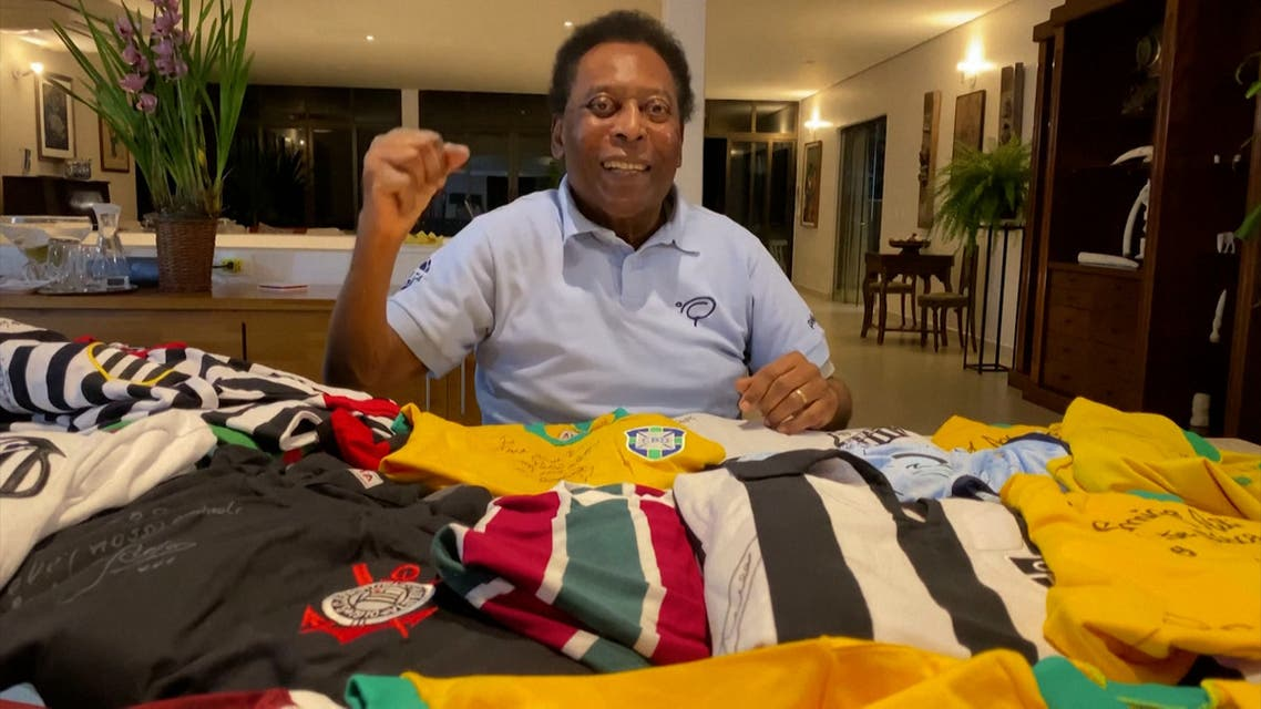 Pele brings sporting stars together for COVID-19 charity auction