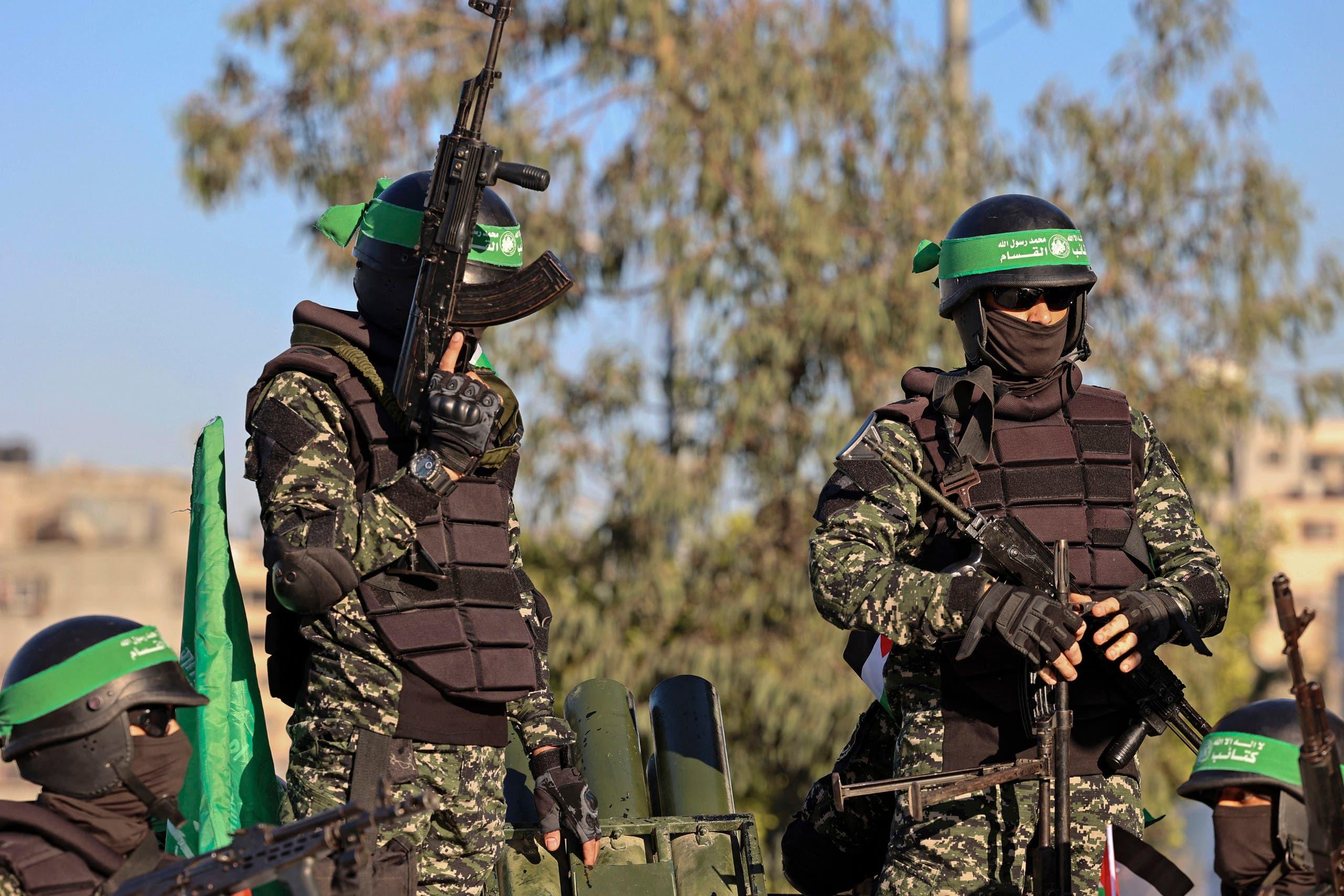 عناصر من حماس في غزة (أرشيفية)