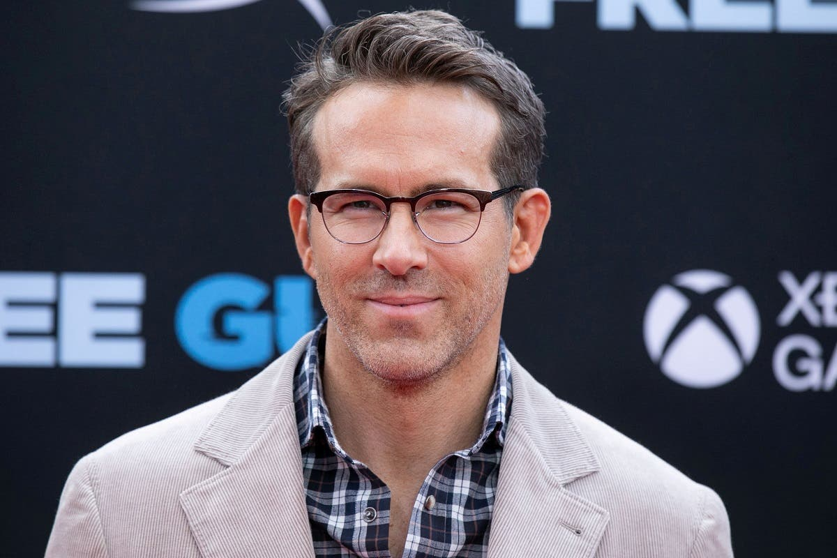 Actor Ryan Reynolds poses at the premiere for the film Free Guy in New York City, New York, US, on August 3, 2021. (Reuters)