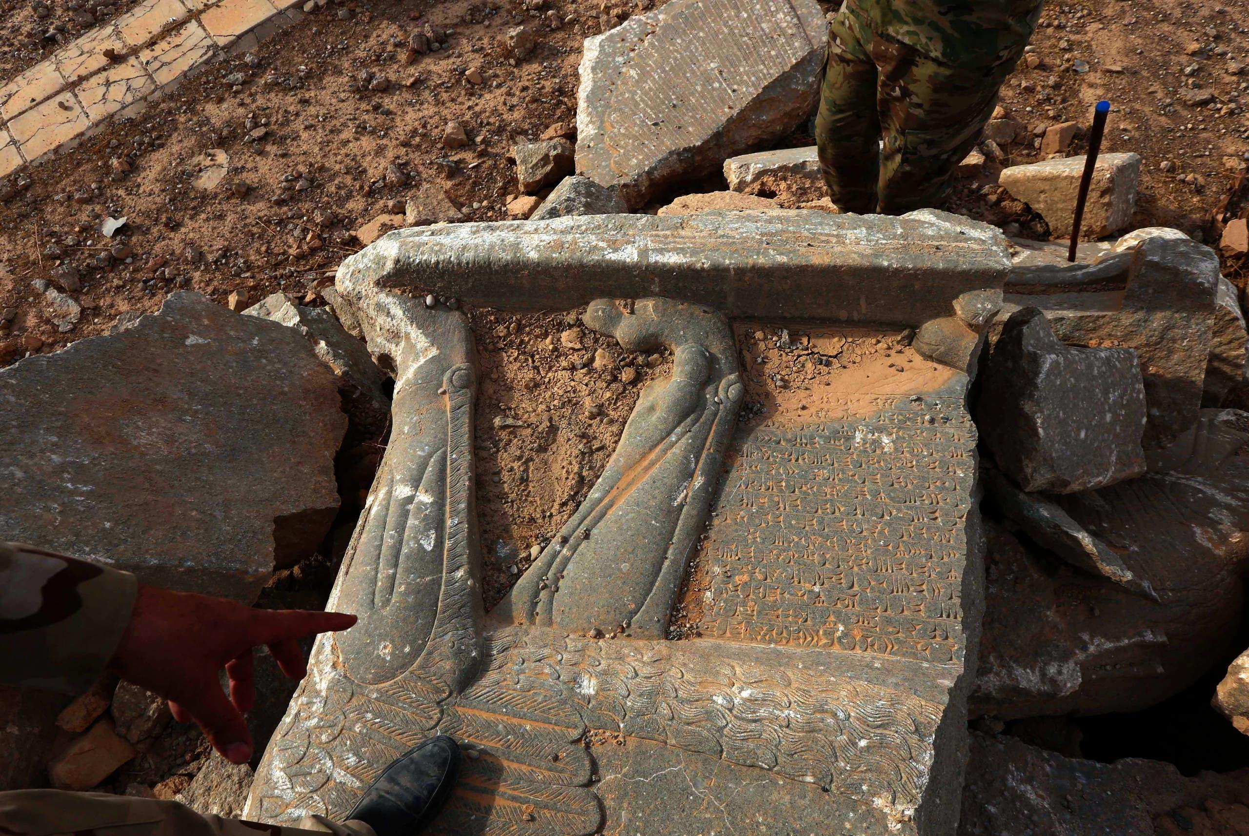 آثار العراق  (أرشيفية- فرانس برس)