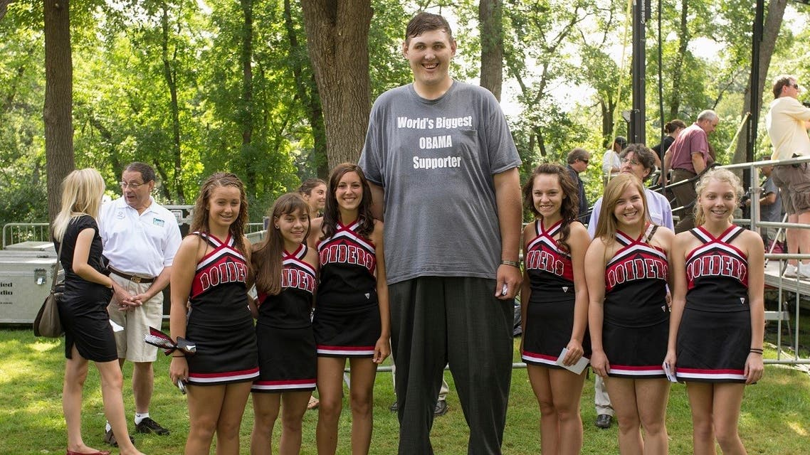 In this August 15, 2011 photo, Igor Vovkovinskiy is seen at an event at Lower Hannah's Bend Park, in Cannon Falls, Minn. (AP/Nati Harnik)