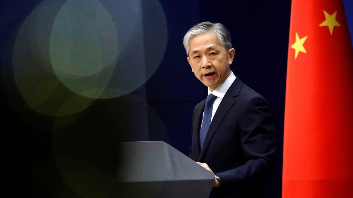 المتحدث باسم الخارجية الصينية (رويترز)