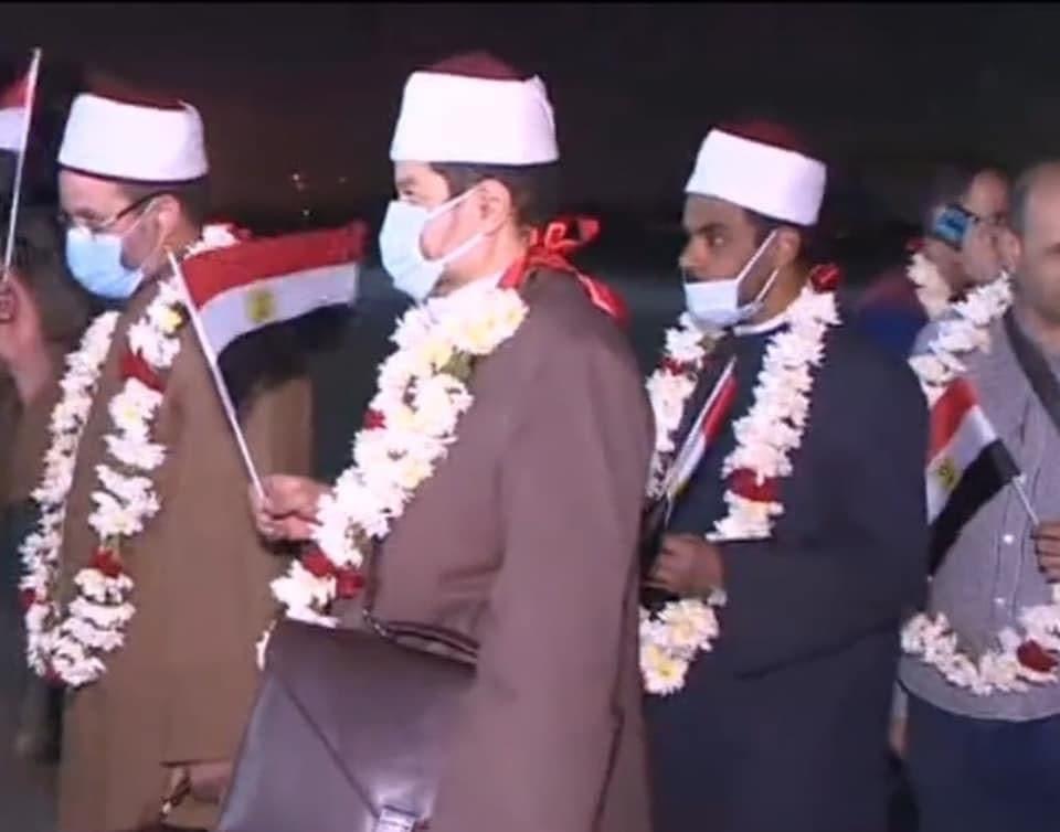 من عملية إجلاء المصريين من أفغانستان