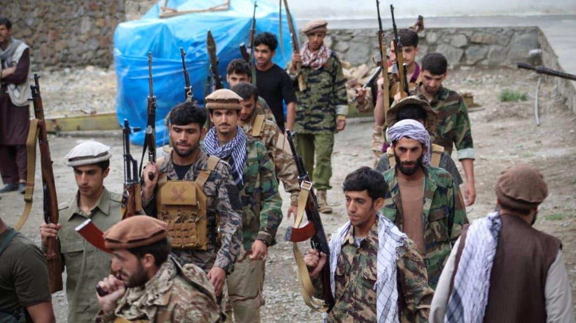 المقاومة الأفغانية في ولاية بنشجير (رويترز)