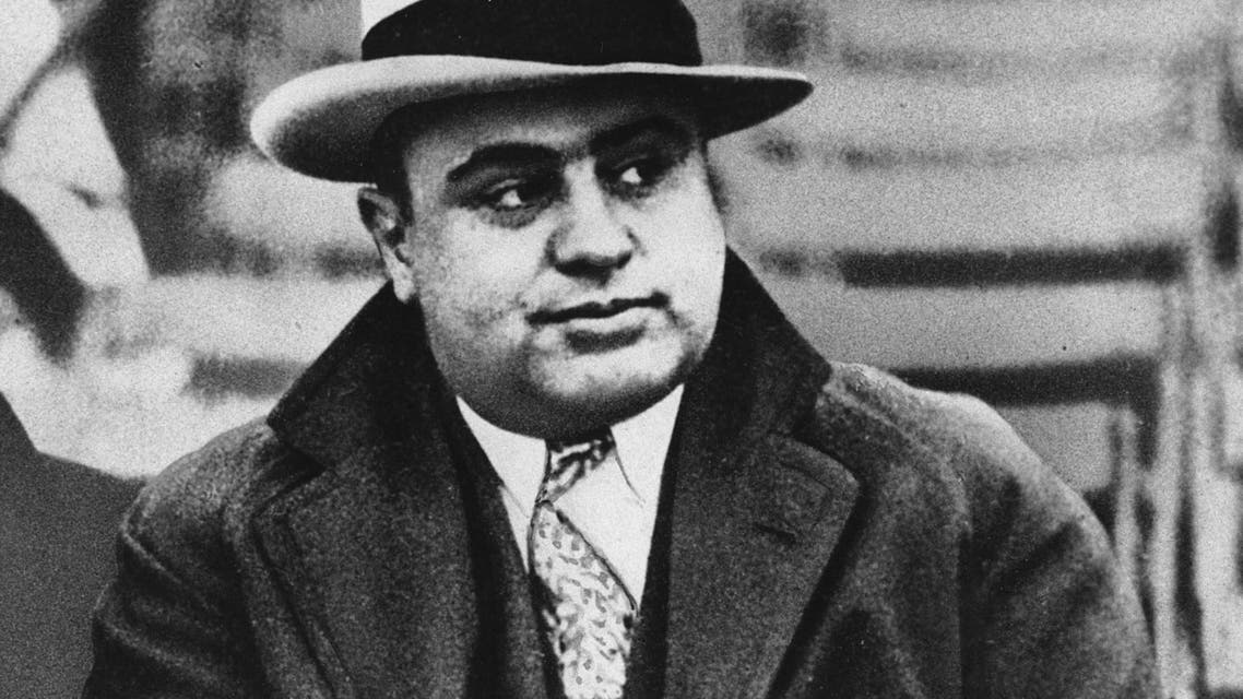 This January 19, 1931, file photo shows Chicago mobster Al Capone at a football game. (File photo: AP)