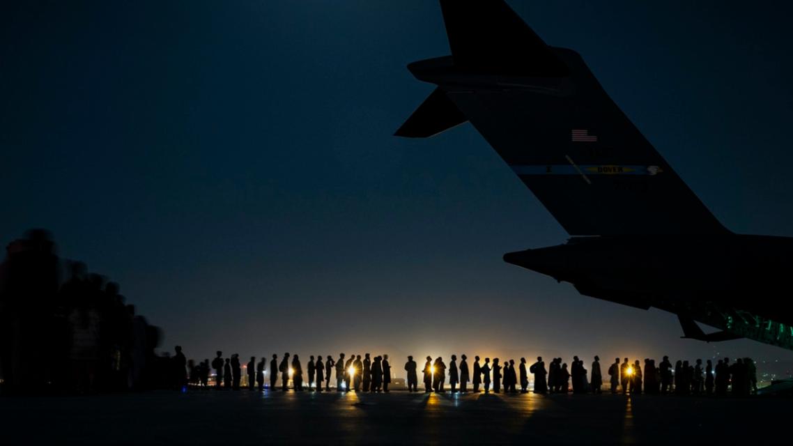 Afghanistan : Evacuation