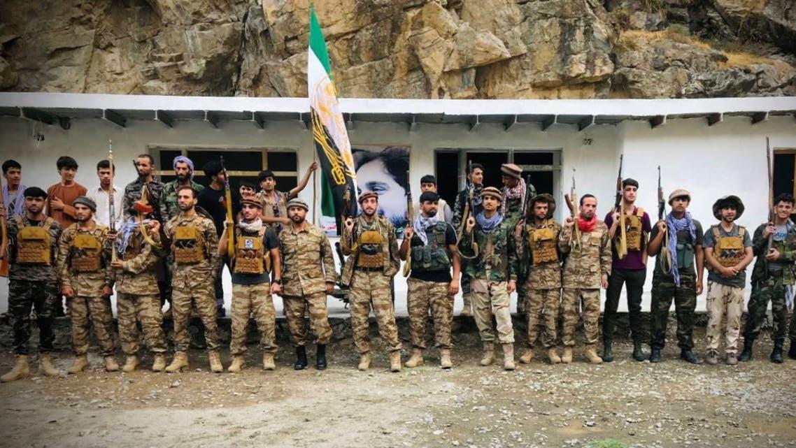 Men prepare for defense against the Taliban in Panjshir, Afghanistan August 22, 2021. Picture taken August 22, 2021. (Reuters)