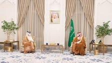 Saudi Crown Prince Mohammed bin Salman, Qatar FM meet in NEOM