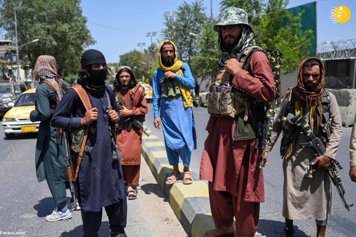عناصر طالبان في کابل