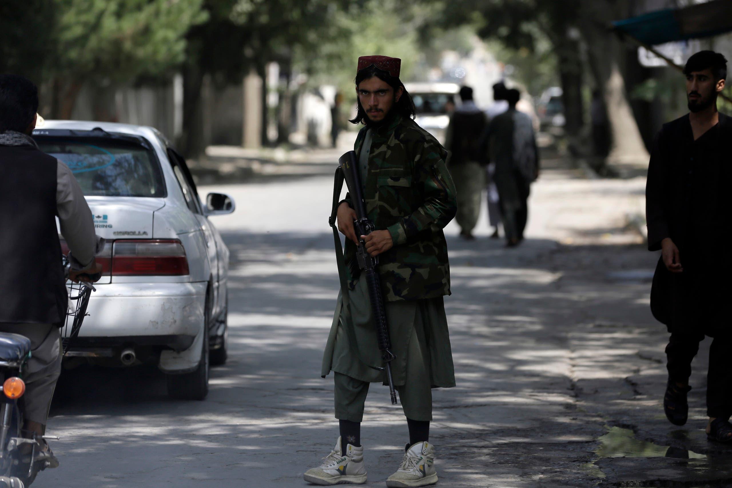 عنصر من طالبان (أرشيفية- أسوشييتد برس)
