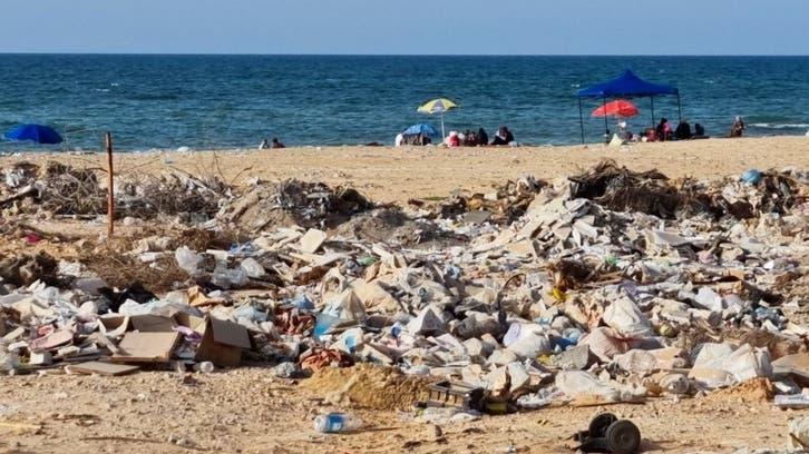 التلوث يهدد شواطئ ليبيا.. صور تكشف حجم الكارثة