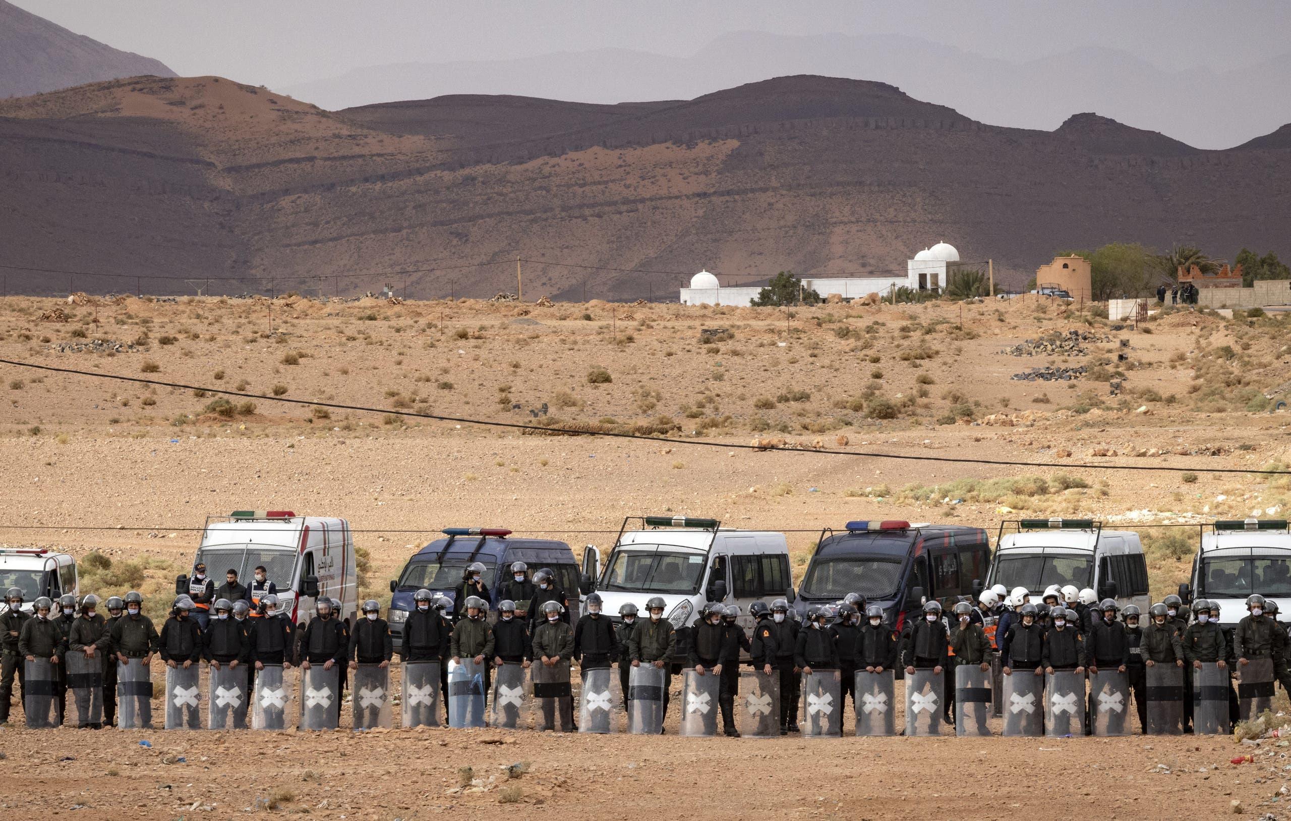 من الحدود المغربية الجزائرية (أرشيفية فرانس برس)