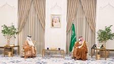 الأمير محمد بن سلمان يبحث مع وزير خارجية قطر العلاقات الثنائية