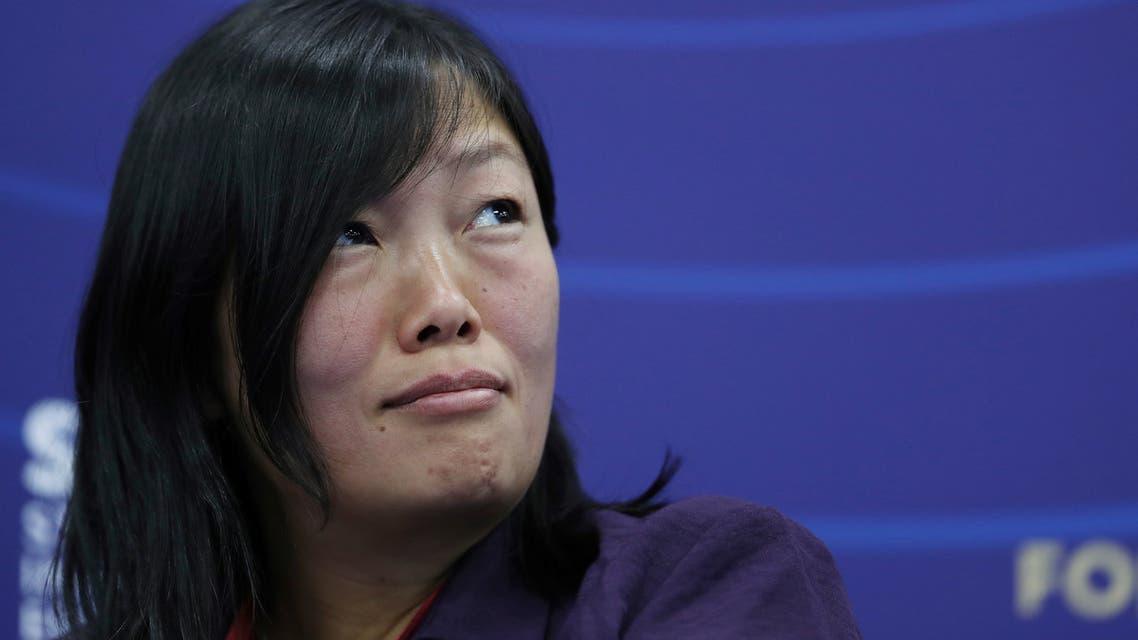 تاتيانا باكالتشوك، المؤسسة والرئيسة التنفيذية لشركة التجارة الإلكترونية الروسية Wildberries (رويترز)