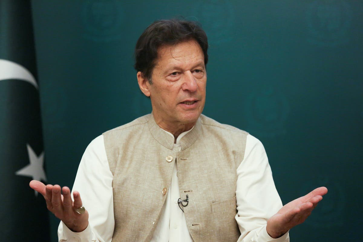 """Pakistan's Prime Minister Imran Khan said the Taliban had broken """"the shackles of slavery."""" Imran's sentiments were echoed across the world in sometimes muted and sometimes pronounced voices, even here in Egypt writes Heba Yosry. (File photo: Reuters)"""