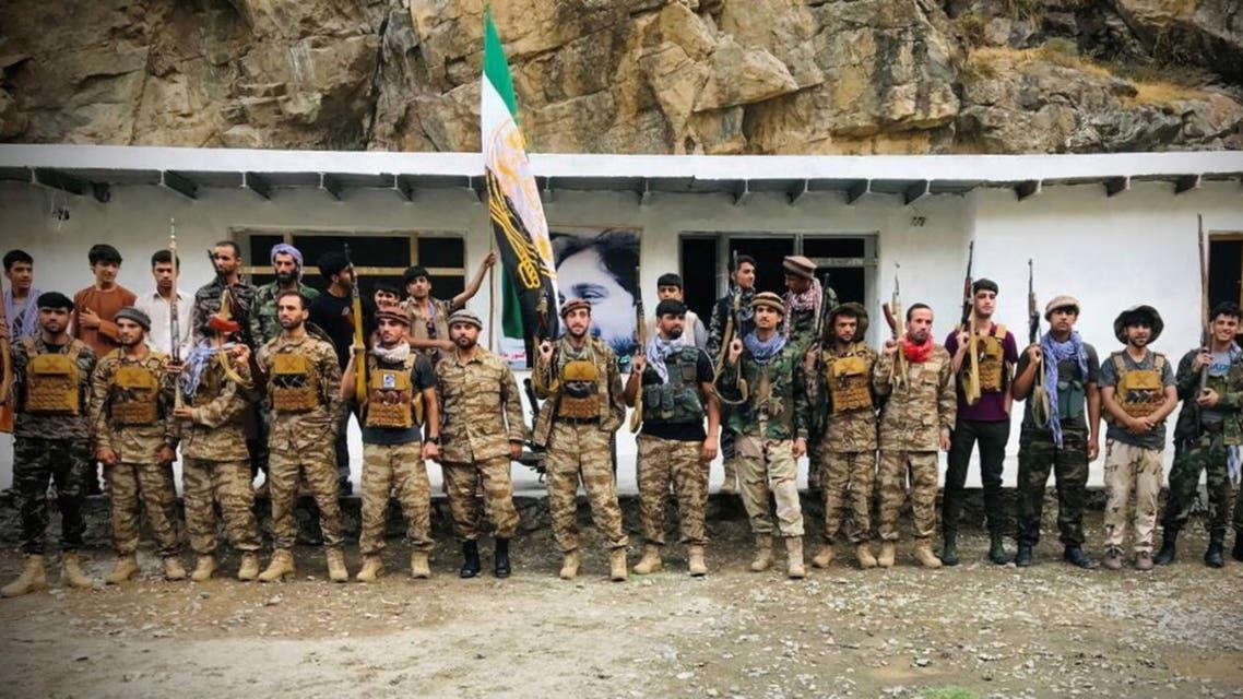 قوات مناهضة لـطالبان في منطقة بنجشير شمال شرقي أفغانستان