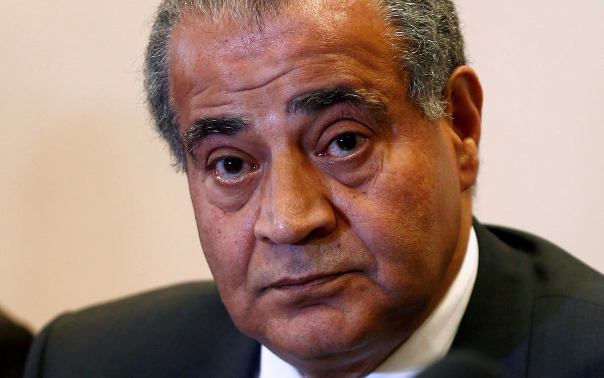 Egypt's Supply Minister Ali Moselhy looks on during a news conferenc about the launch of the Government's local wheat harvest in Beni Suef, south of Cairo, Egypt. (File photo: Reuters)