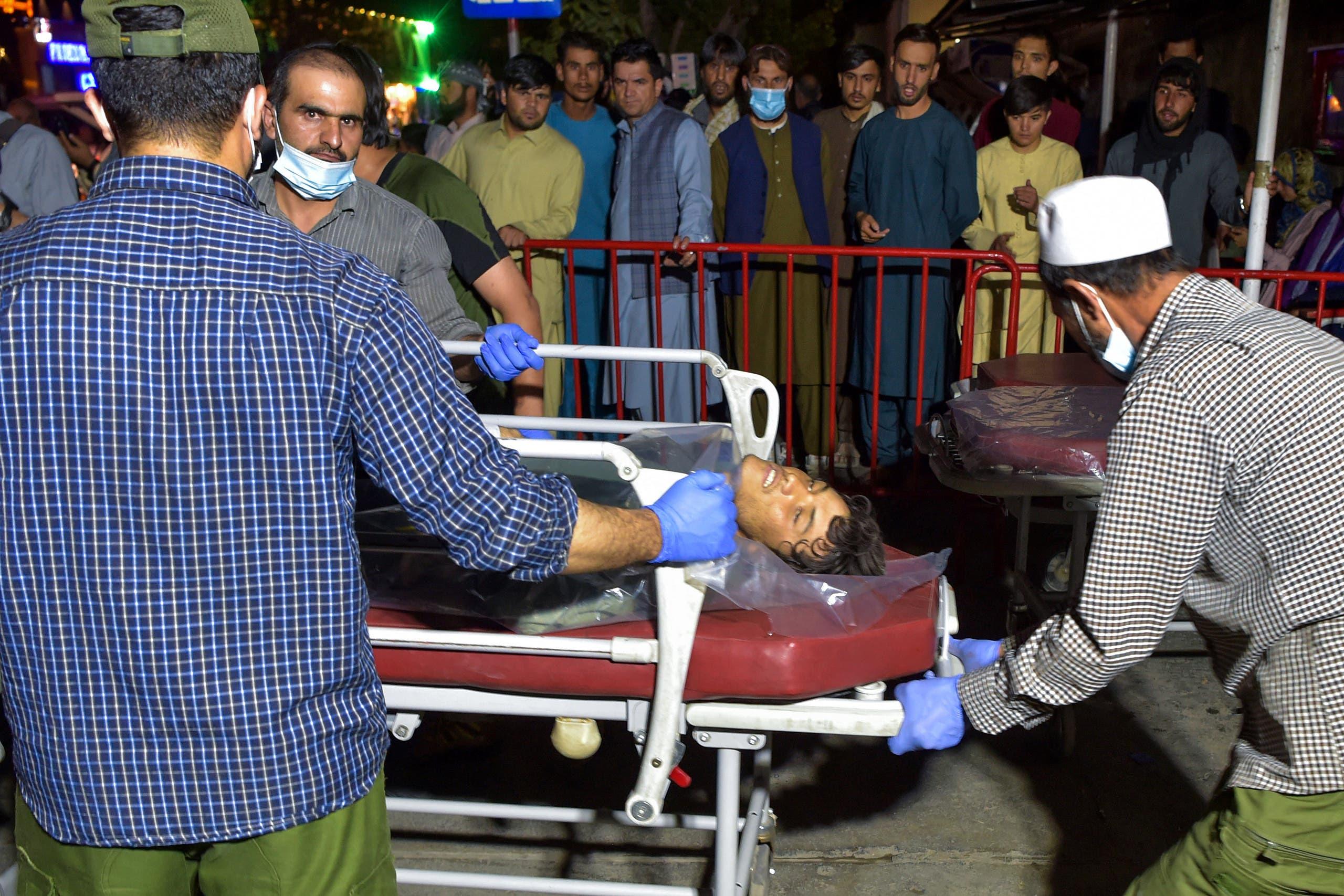 من تفجيري مطار كابل