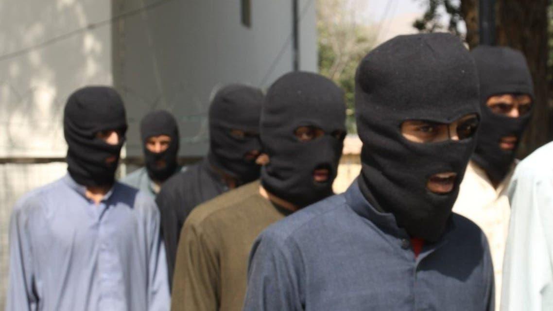 عناصر داعش در افغانستان