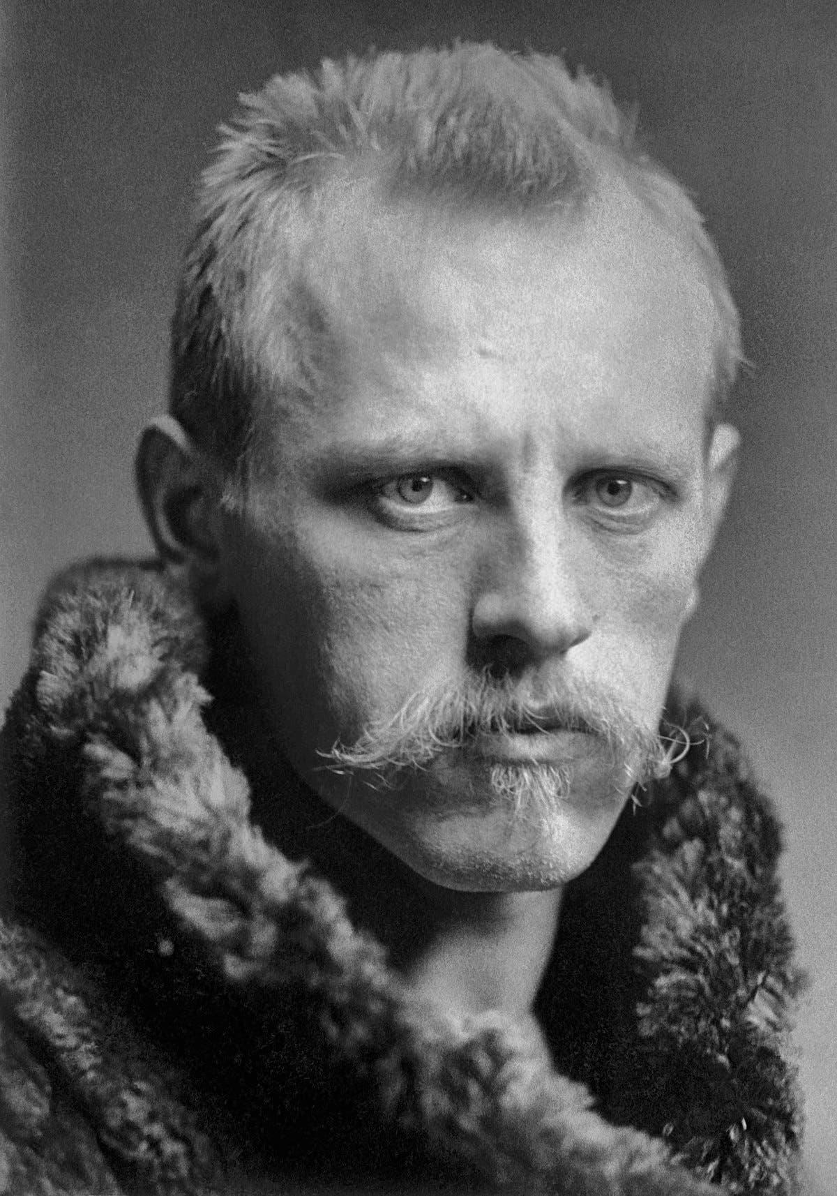 صورة للمستكشف النرويجي فريتيوف نانسين