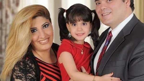 الابن شريف والزوجة ساناز وابنتهما