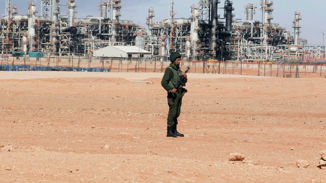 حقل غاز في الجزائر