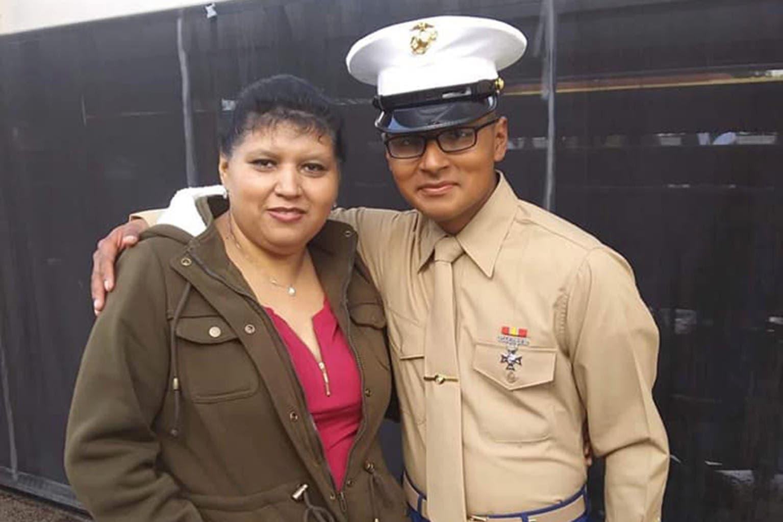 الجندي David Lee Espinoza  أحد ضحايا تفجير كابل