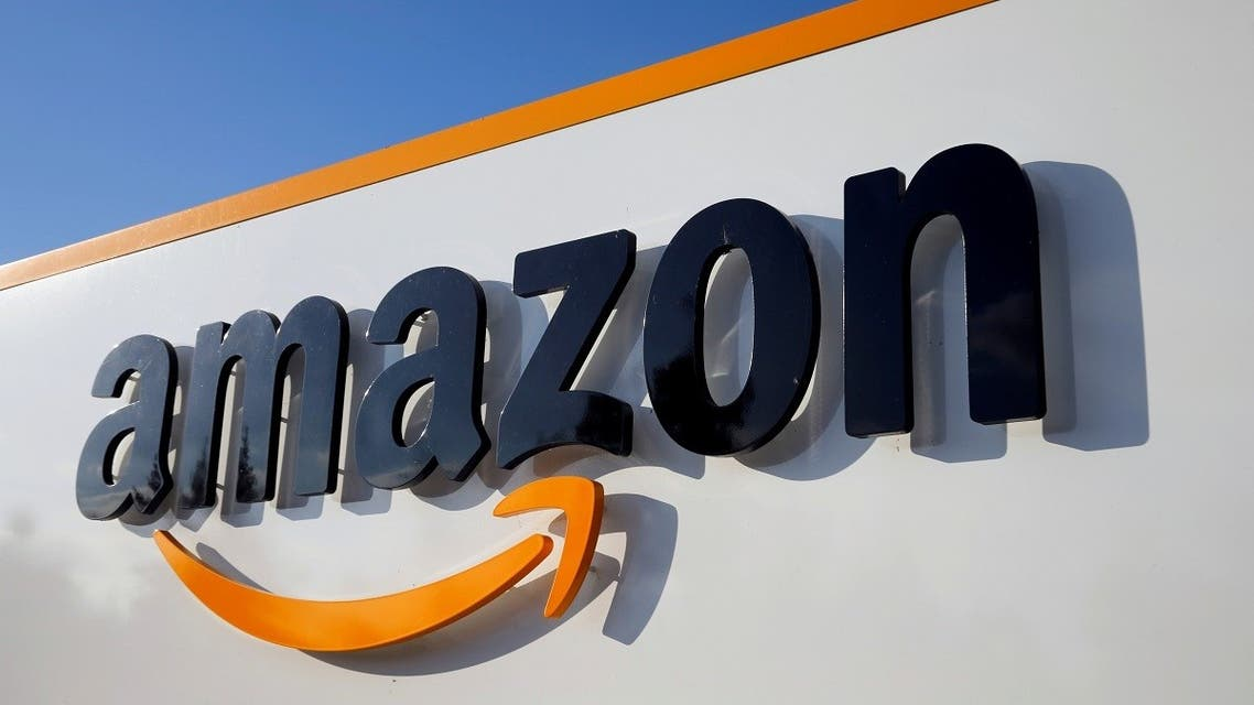 The logo of Amazon is seen at the company logistics center in Boves, France, August 8, 2018. (Reuters/Pascal Rossignol)
