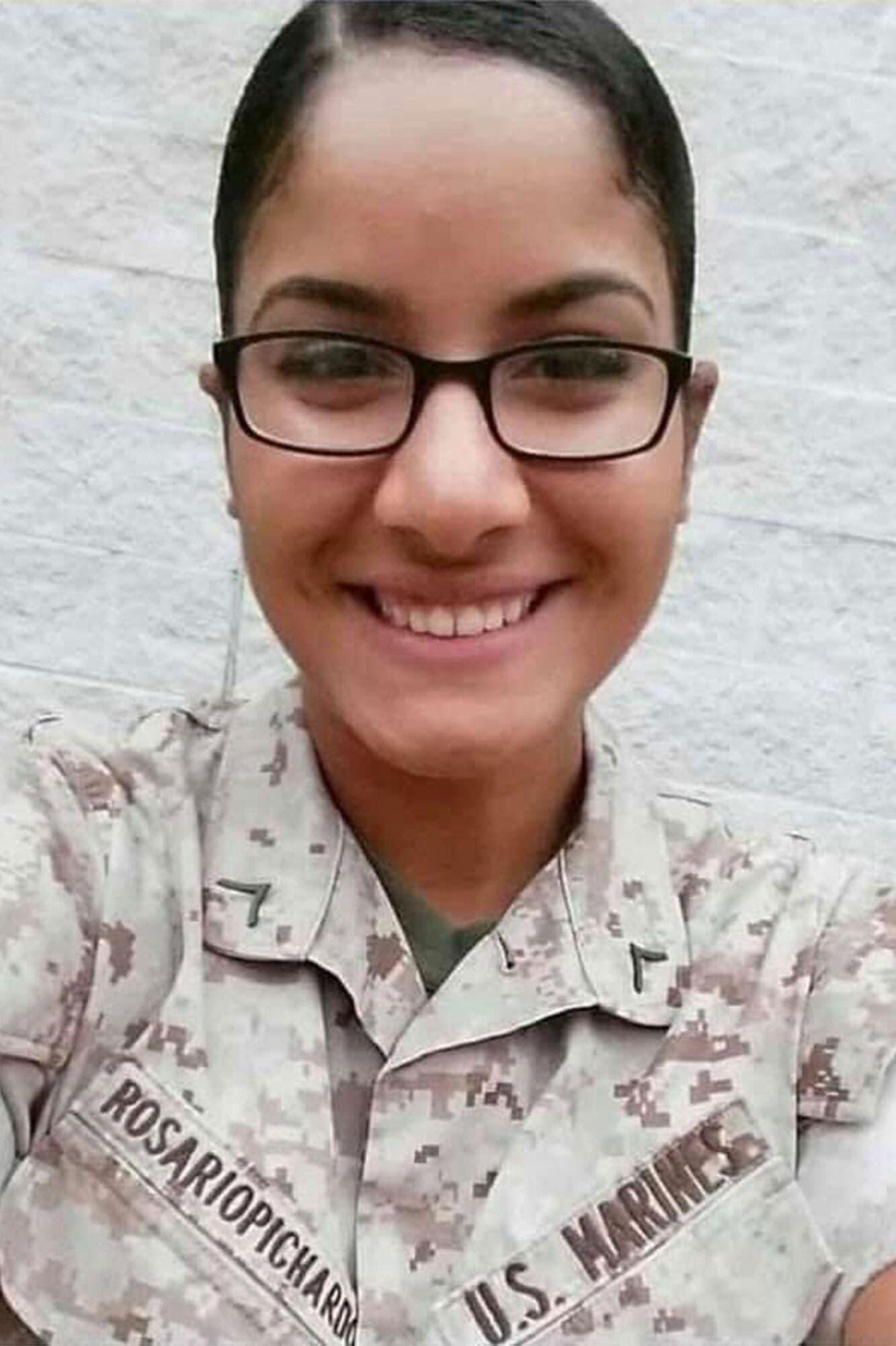 الجندية Johanny Rosario  أحد ضحايا تفجير كابل