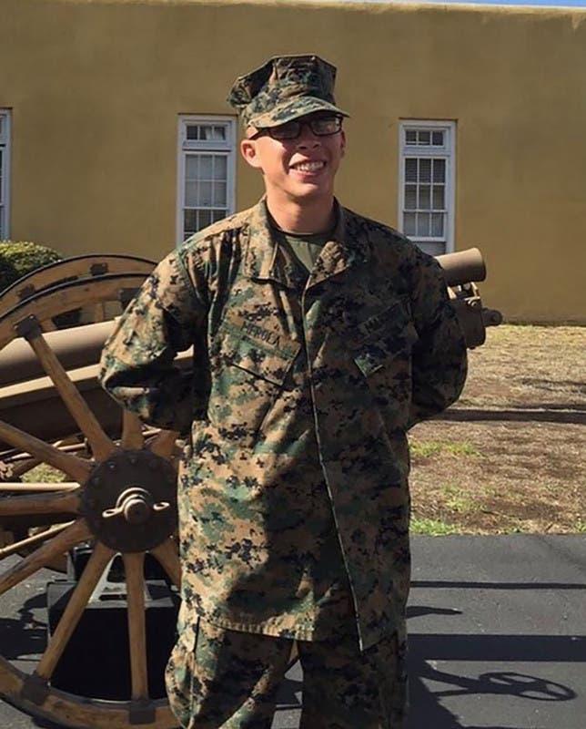 الجندي Dylan Merola  أحد ضحايا تفجير كابل