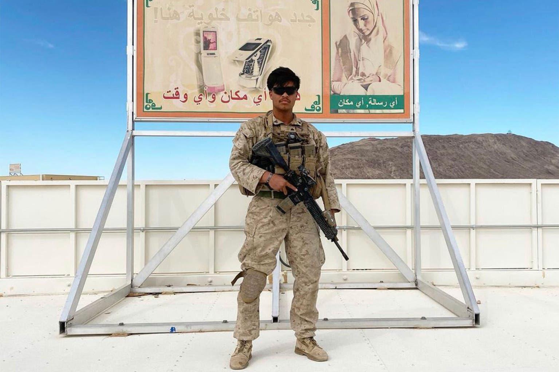 الجندي Humberto Sanchez  أحد ضحايا تفجير كابل