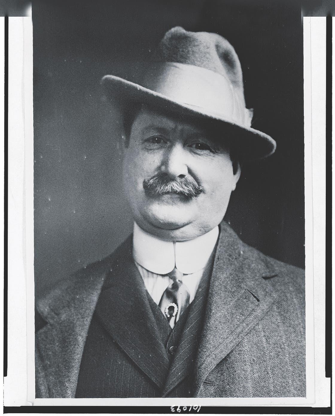 صورة للمحقق الأميركي بيرنز