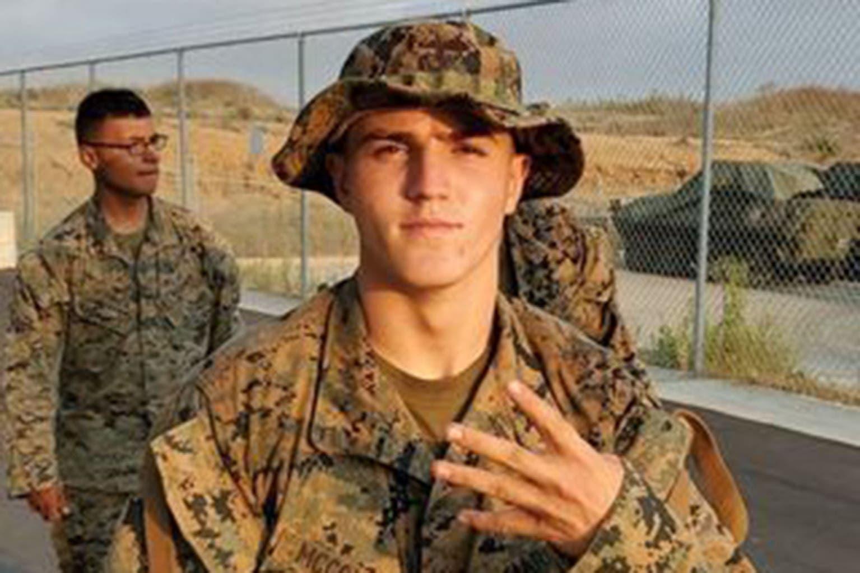 الجندي Rylee McCollum  أحد ضحايا تفجير كابل