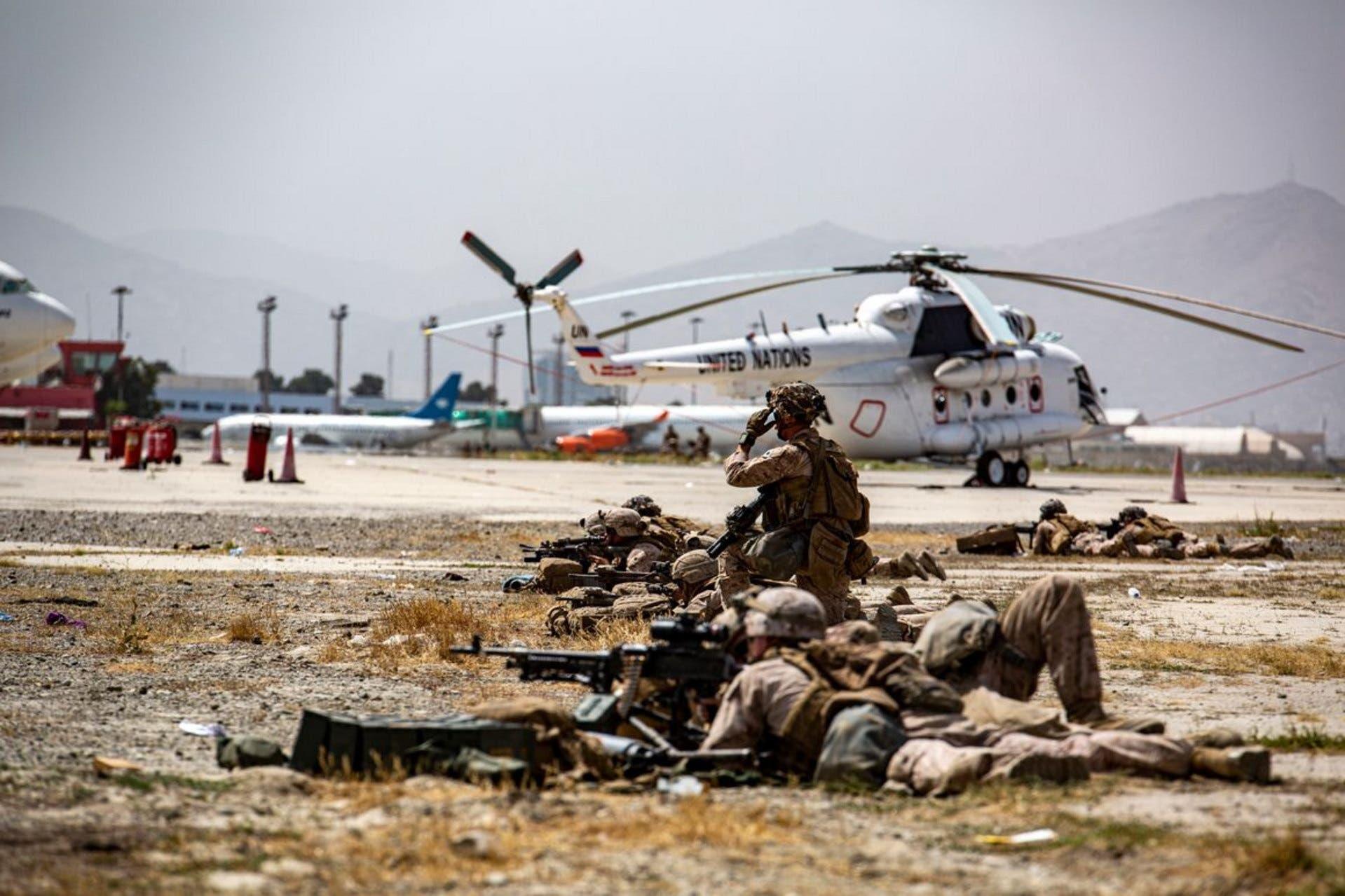 قوات أميركية في كابل
