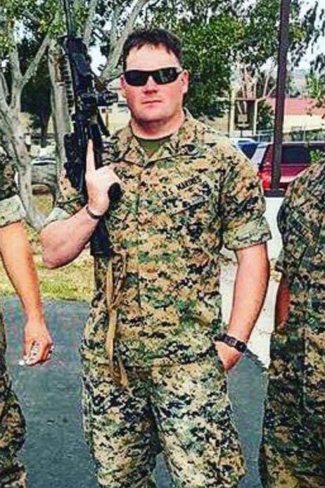 الجندي Taylor Hoover أحد ضحايا تفجير كابل
