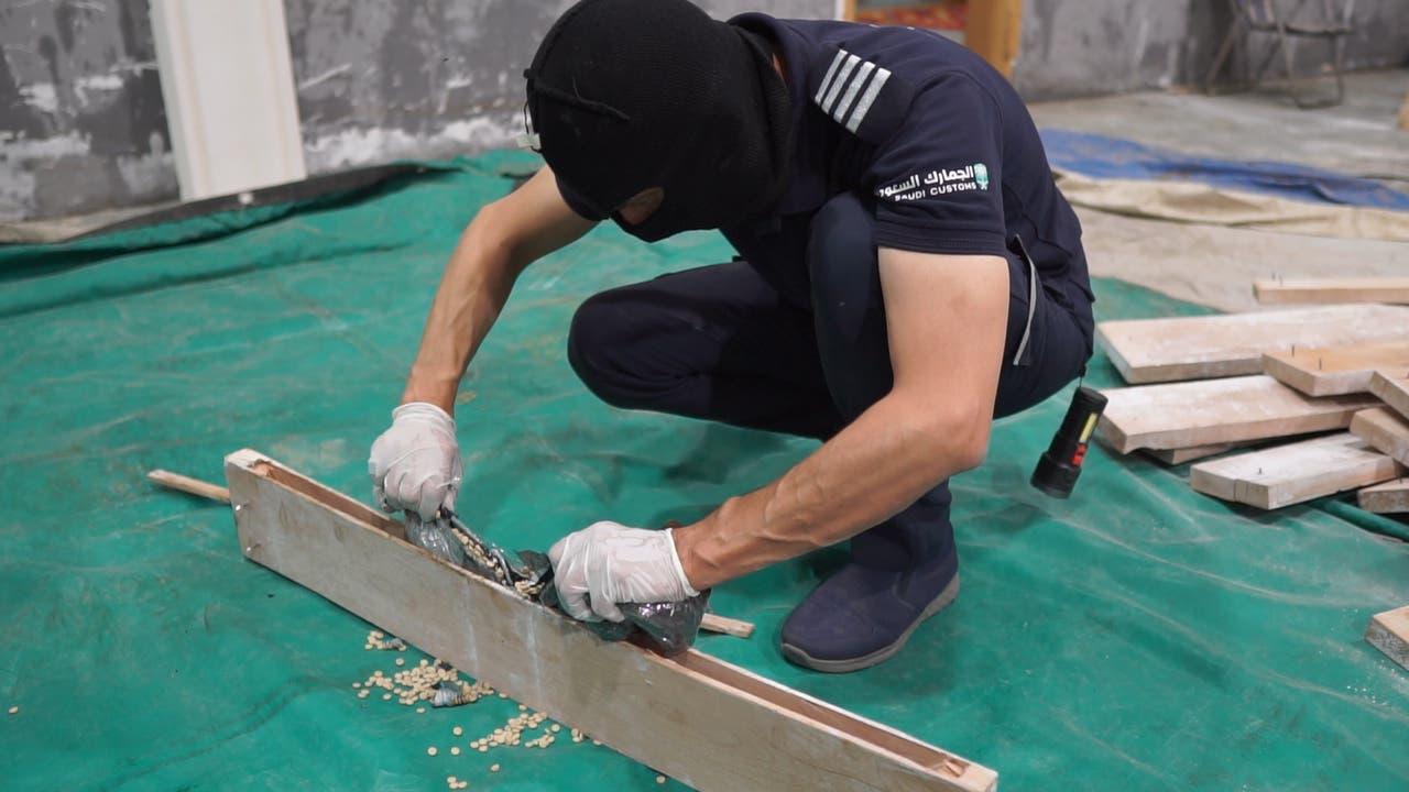 Saudi Arabia foils six attempts to smuggle more than 1.1 million Captagon pills. (SPA)