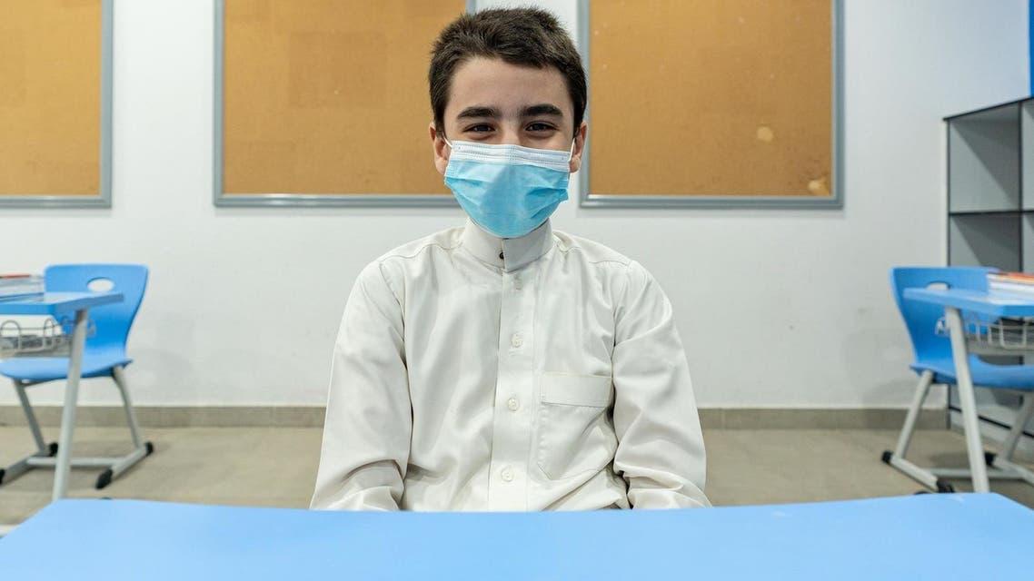 Students in Saudi Arabia return to schools amid strict COVID-19 precautionary measures. (SPA)